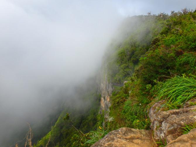 スリランカのホートンプレインズ国立公園