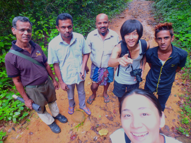 スリランカ ラトゥナプラ 集合写真