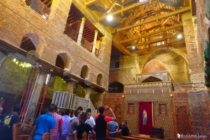 聖セルジウス教会 オールドカイロ