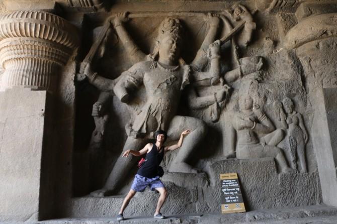 インド アウランガーバード アジャンタ(29窟)