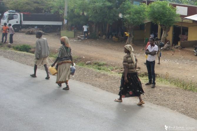 コンソ族の人たち