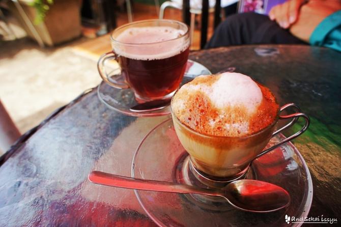 ゴンダール コーヒー カフェ