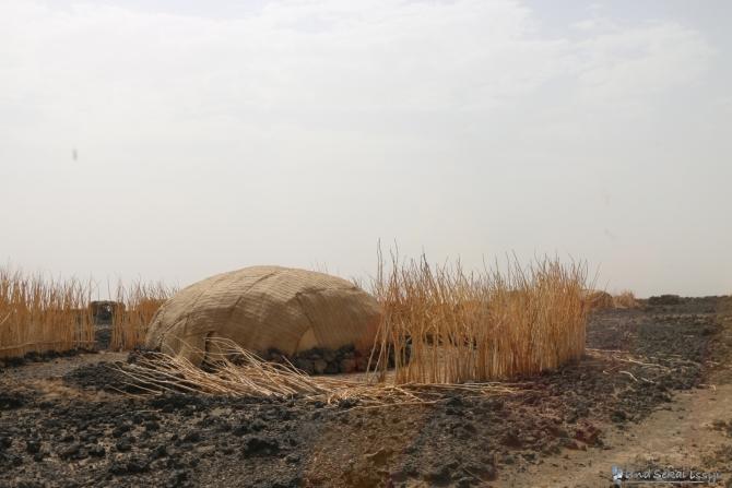 ダナキルのダロール火山に向かう途中で寄った村