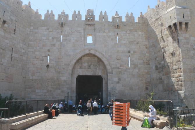 イスラエル エルサレム ダマスカス門