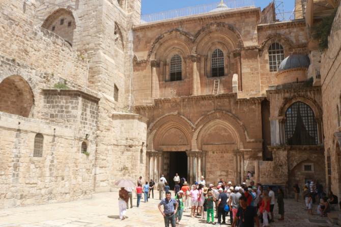 イスラエル エルサレム 聖墳墓①