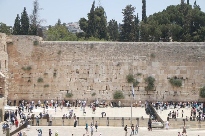 イスラエル エルサレム 嘆きの壁①