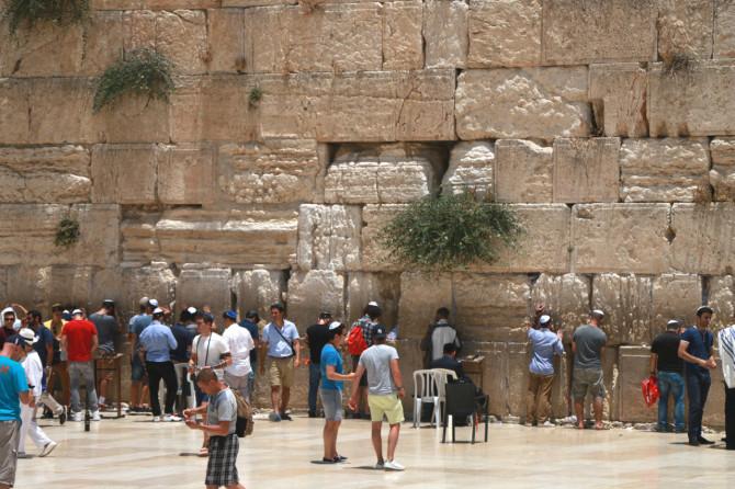 イスラエル エルサレム 嘆きの壁②