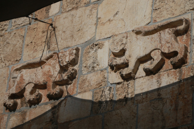 イスラエル エルサレム 聖ステパノ門②