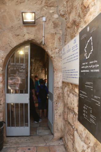 イスラエル エルサレム 城壁散歩①