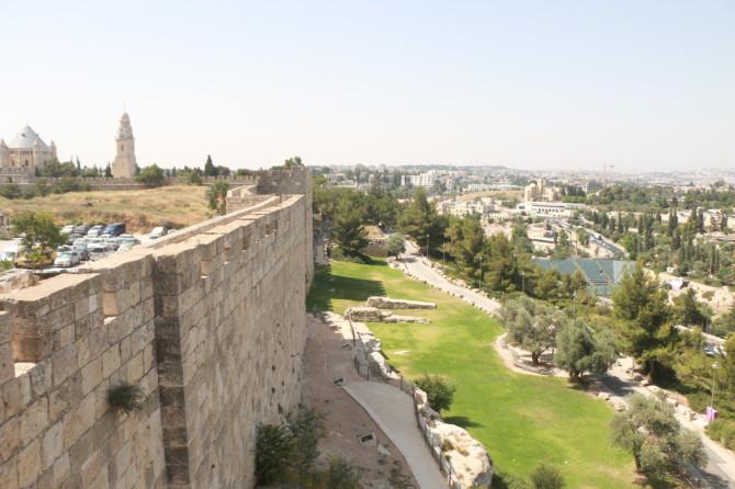イスラエル エルサレム 城壁散歩②