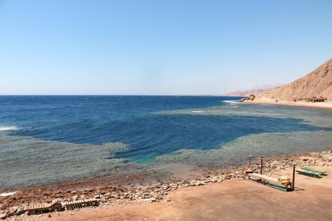 エジプト ダハブ 海