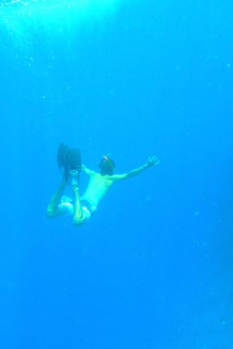 エジプト ダハブ 潜水②