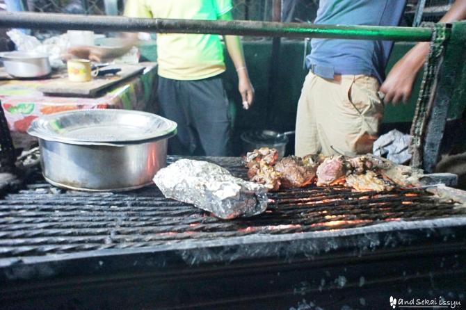 ケニアのモヤレで焼肉
