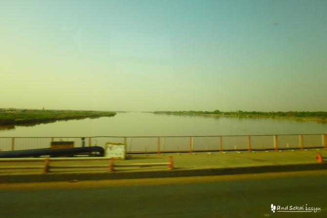 ハルツーム 川