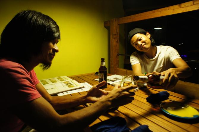 ナイロビの日本食居酒屋チャカで飲む