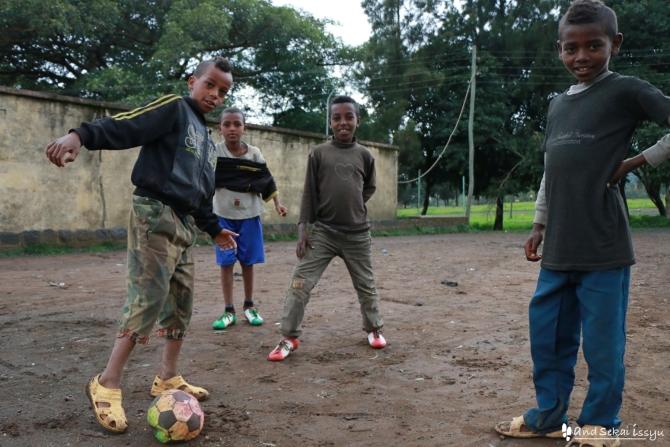 エチオピア ゴンダール 子供