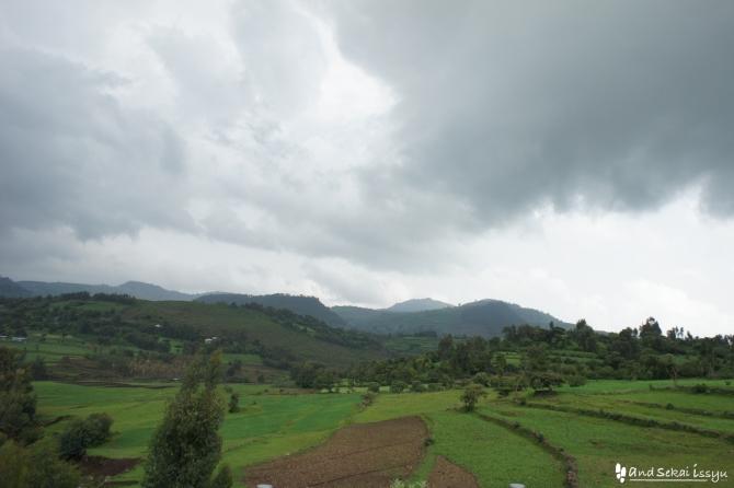 ゴンダール 景色