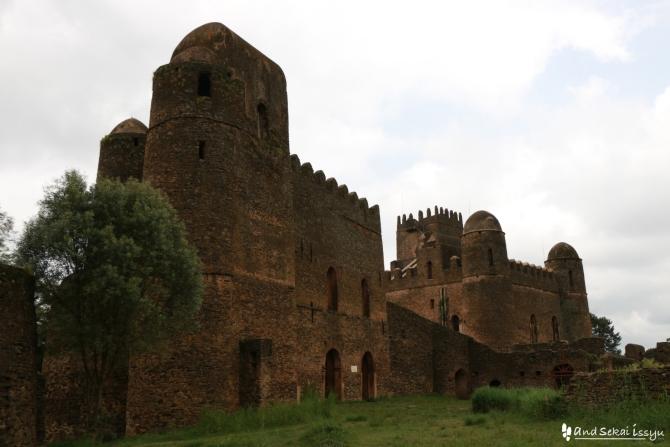 エチオピア 世界遺産 ファジルゲビ
