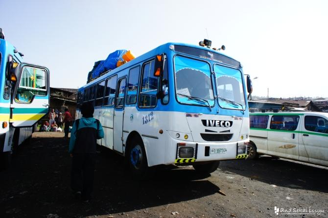 ゴンダール シュレ バス