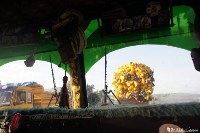 アディスアベバからアルバミンチのバス