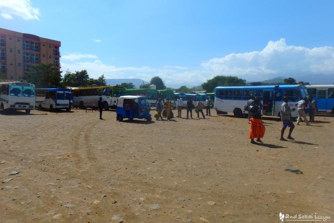 アディスアベバからアルバミンチにバスで移動