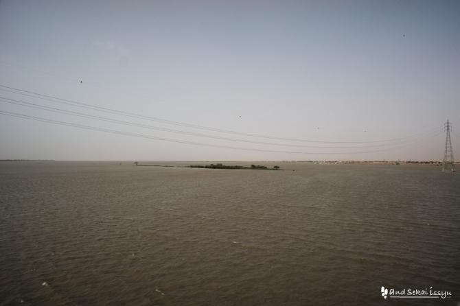 ハルツーム ナイル川