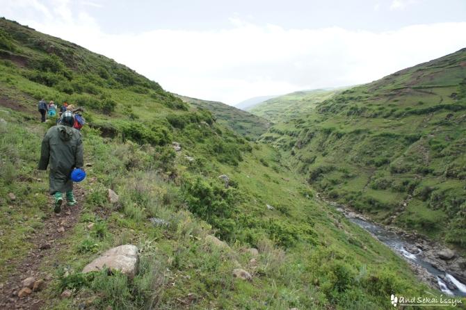シミエン国立公園のトレッキング