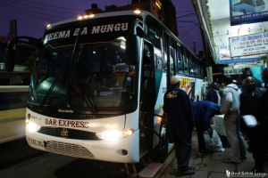 ナイロビからモシへバス移動