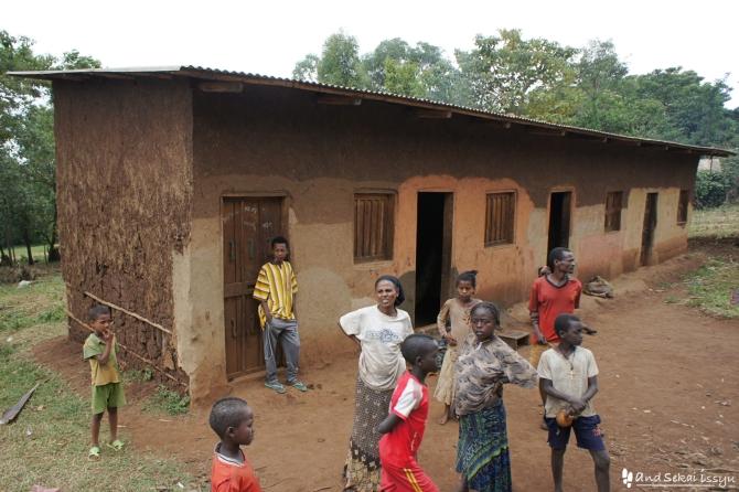 ジンカのアリ族の村