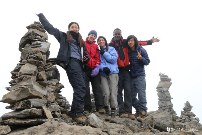キリマンジャロ登山2日目、シラキャンプからシラピーク