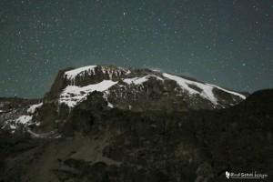 バランコキャンプからの星空
