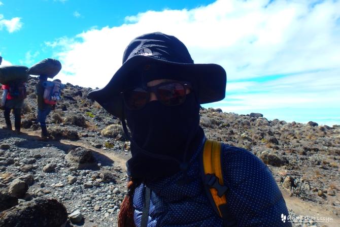 キリマンジャロ登山3日目、バランコキャンプに向けて出発