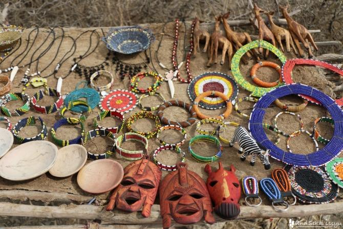 マサイ族のお土産