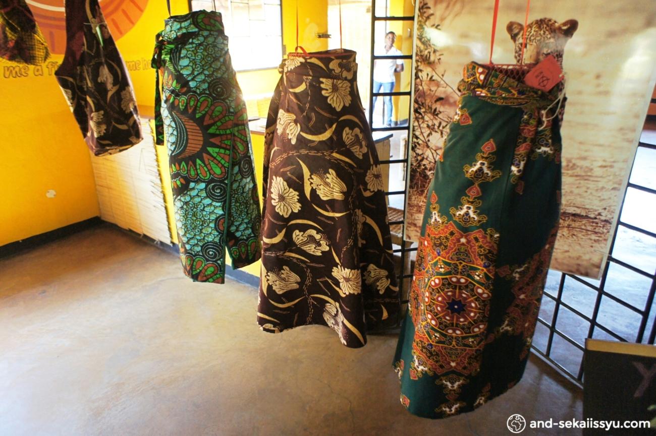 ザンビアでのJICA隊員に付いて行って服飾や女性支援について学ぶ
