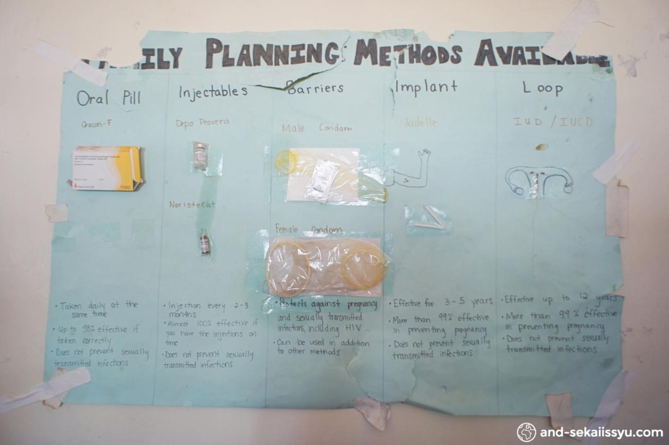ザンビアでJICAのエイズ感染症対策について学ぶ