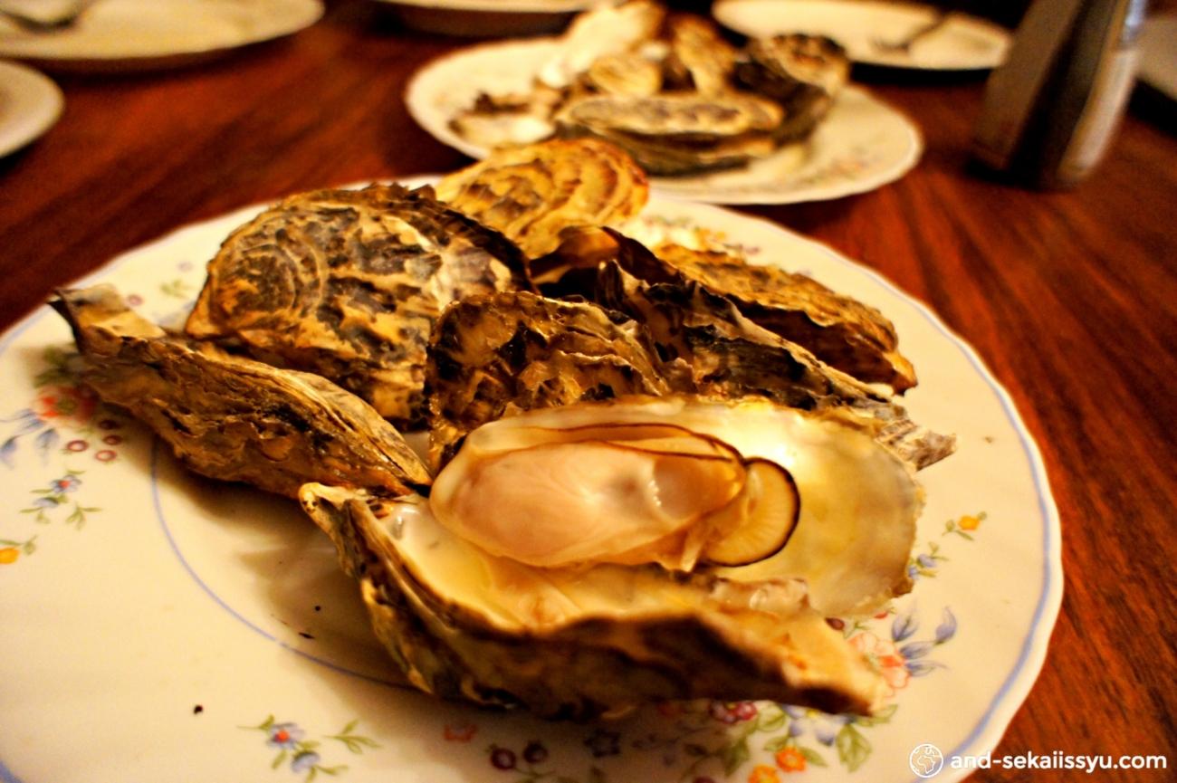 スワコップムントで牡蠣を買ってBBQだ!