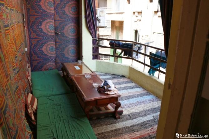 カイロの宿(ホテル)