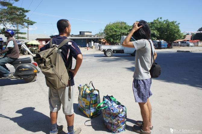 ザンジバル島の青年海外協力隊員