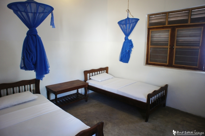 ザンジバル島の宿