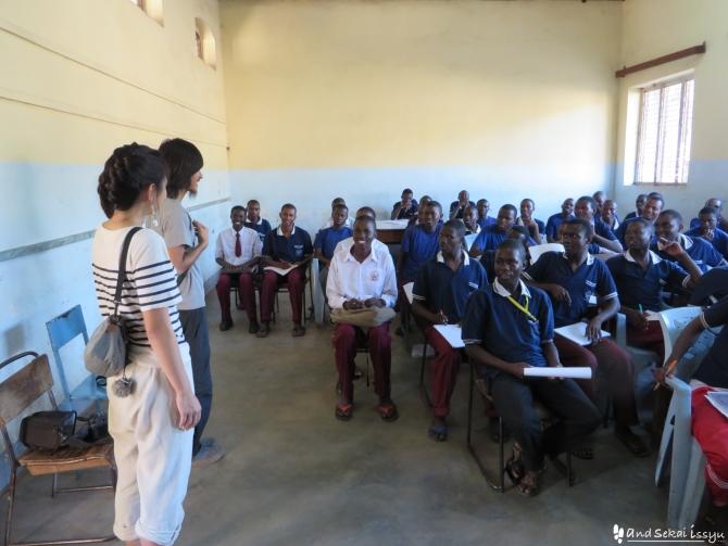 JICAでタンザニアに派遣されている理学療法士に会いに行ったら、日本語の先生になっていた