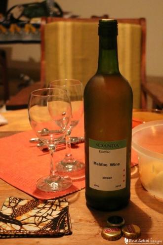 サユリさん宅のワイン