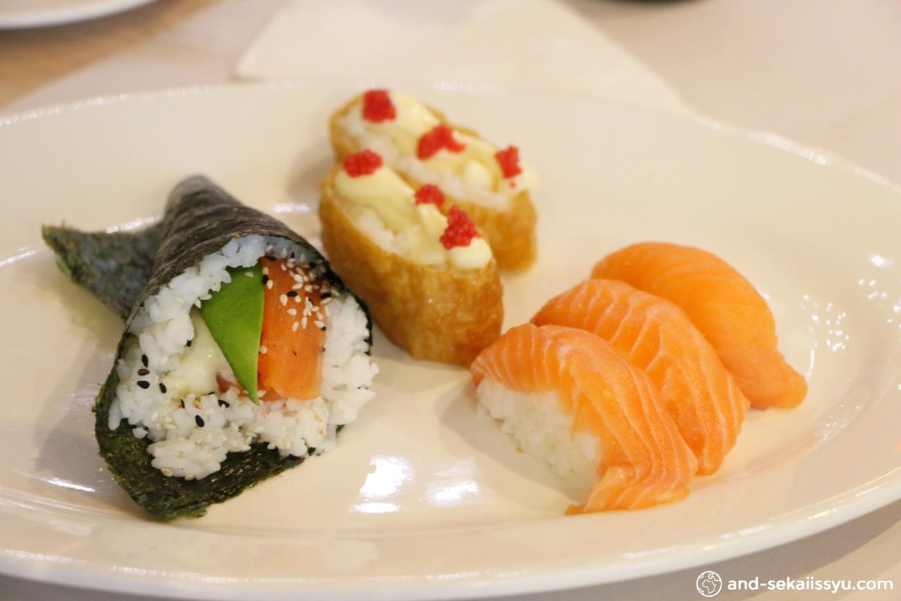 ケープタウンでアクティブ寿司の食べ放題に行ってきた