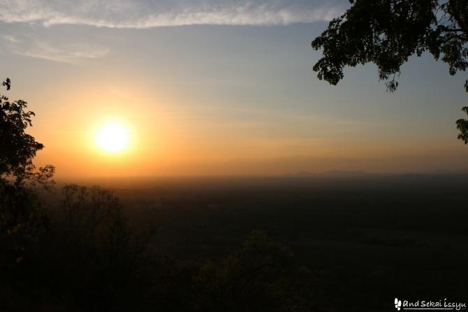 ンダンダの夕日