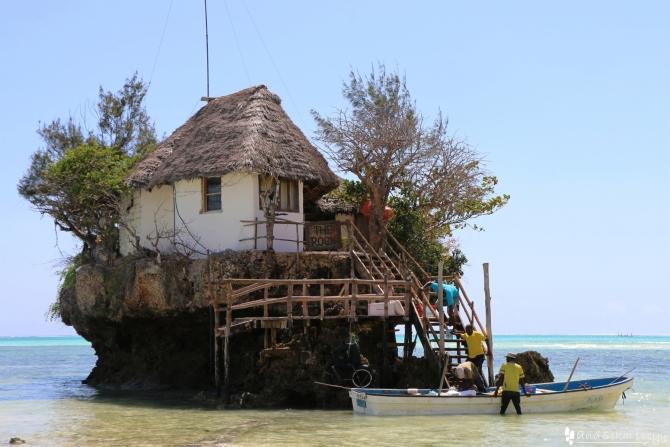ザンジバル島のザ・ロック
