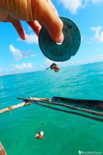 ブエジュで海釣り