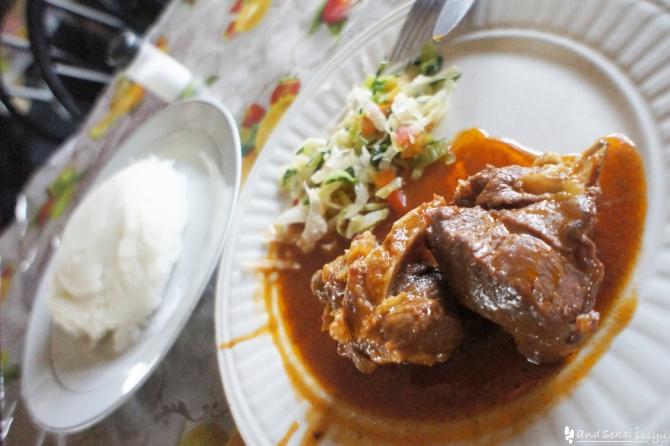 タンザン鉄道(タザラ)で食べた食事シリーズ