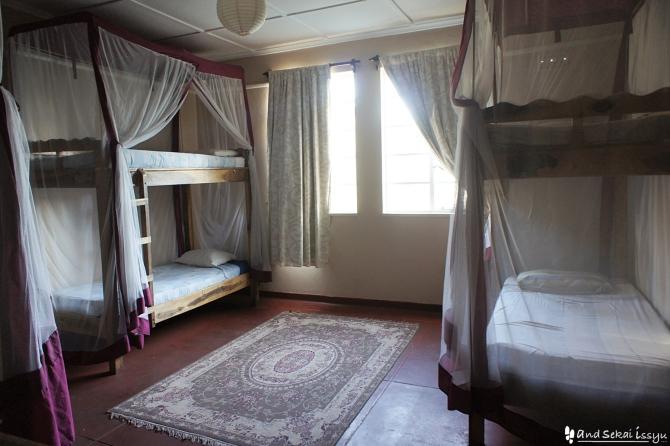 リビングストンの宿(ホテル)の部屋