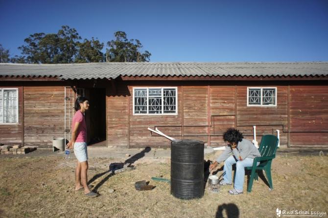 ザンビアのバトカでJICAの農場見学