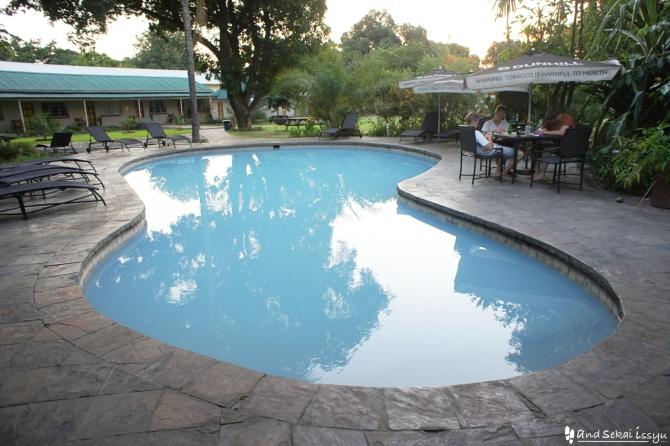 リビングストンの宿(ホテル)のプール