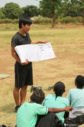 ザンビアの青年海外協力隊ショウダイさん